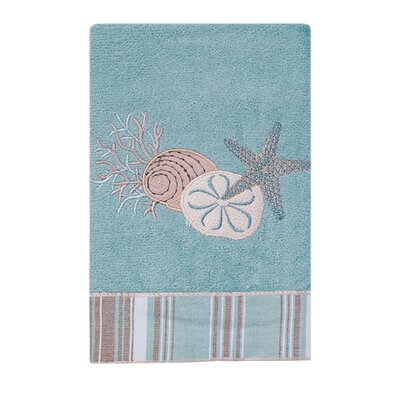 By the Sea Hand Towel Color: Mineral