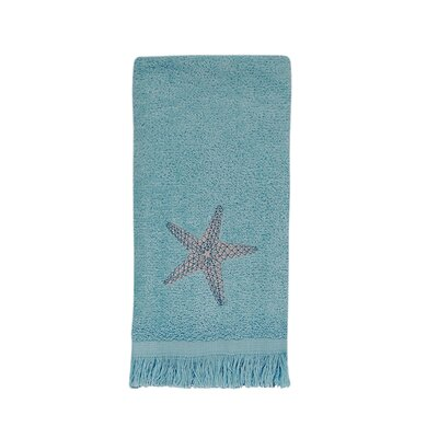 By the Sea Fingertip Towel Color: Mineral