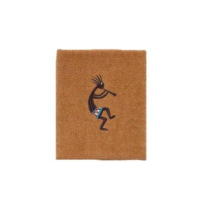 Kokopelli Washcloth Color: Nutmeg