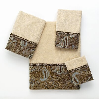 Avanti Linens Bradford 4 Piece Towel Set - Color: Linen at Sears.com