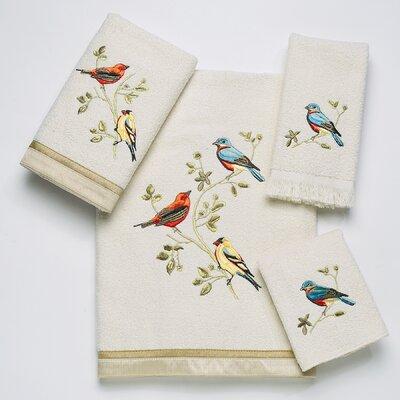 Culberson Birds 4 Piece Towel Set