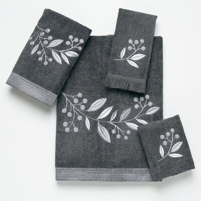Avanti Linens Madison 4 Piece Towel Set - Color: Granite at Sears.com