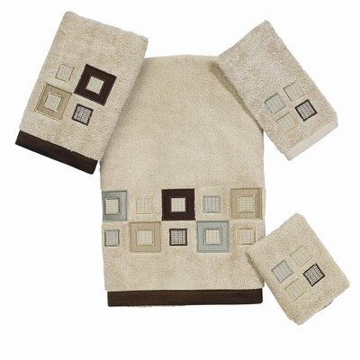 Premier Metropolis 4 Piece 100% Cotton Towel Set