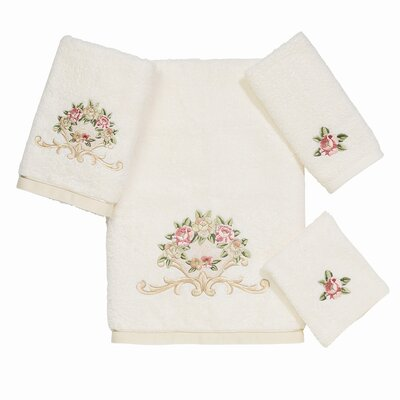 Avanti Linens Premier Royal Rose 4 Piece Towel Set at Sears.com