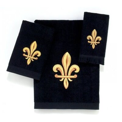 Avanti Linens Fleur De Lys 4 Piece Towel Set - Color: Ivory at Sears.com