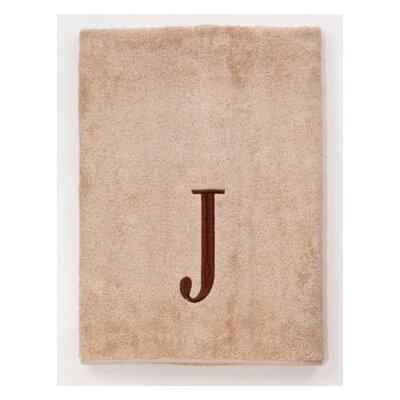 Premier Monogram Block 6 Piece Towel Set Letter: J