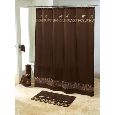 Animal Parade Shower Curtain