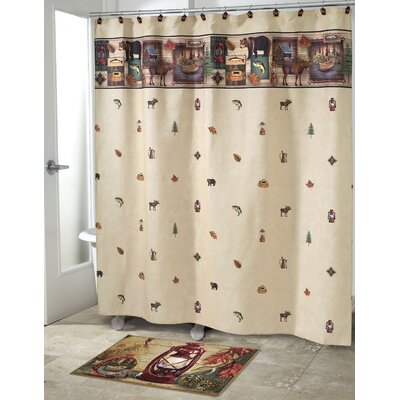 Camping Trip Shower Curtain