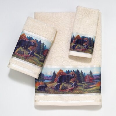 Blackbear Lodge 3  Piece Towel Set