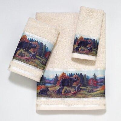 Avanti Linens Blackbear Lodge 3 Piece Towel Set