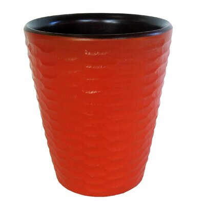 Utensil Vase Color: Tangerine