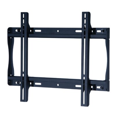 Smart Mount Fixed Universal Wall Mount for 23- 46 Plasma/LCD Finish: Black, Hardware: Phillips Head