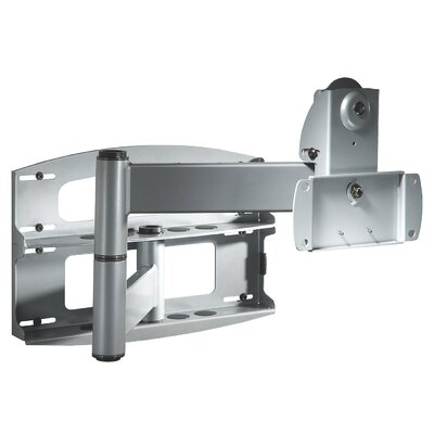 Flat Panel Articulating Arm/Tilt Wall Mount for 37 - 60 Plasma/LCD Finish: Black