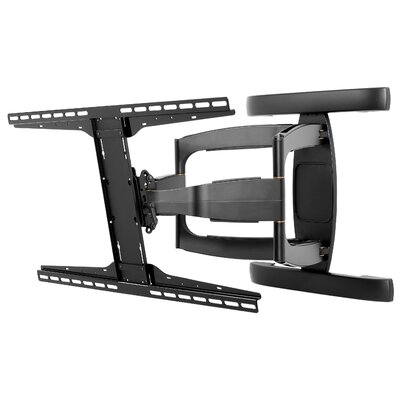 Smart Mount Articulating Arm/Tilt/Swivel Universal Wall Mount for 37 - 71 Flat Panel Screens Finish: Black