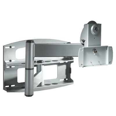 Flat Panel Articulating Arm/Tilt Wall Mount for 37 - 60 Plasma/LCD Finish: Black