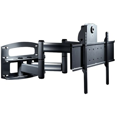 Flat Panel Dual Articulating Arm/Tilt Universal Wall Mount 42 - 71 Flat Panel Screens Finish: Black