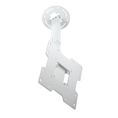 Smart Mount Paramount Tilt/Swivel Universal Ceiling Mount for 15 - 37 LCD Adjustable Drop Range: 10 to 14, Finish: White