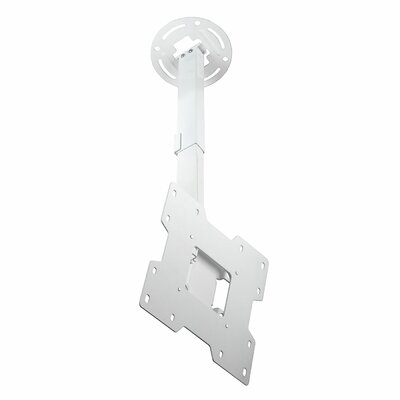 Smart Mount Paramount Tilt/Swivel Universal Ceiling Mount for 15 - 37 LCD Adjustable Drop Range: 14 to 22, Finish: White