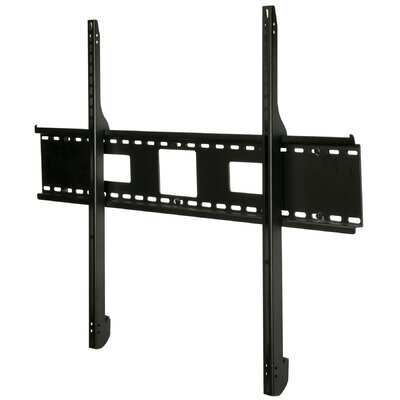 Smart Mount Tilt Universal Wall Mount for 61- 102 Plasma Finish: Black, Hardware: Security Screws