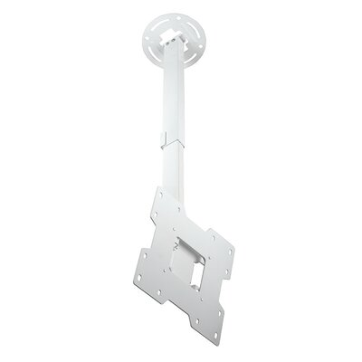 Smart Mount Paramount Tilt/Swivel Universal Ceiling Mount for 15 - 37 LCD Adjustable Drop Range: 20 to 34, Finish: White