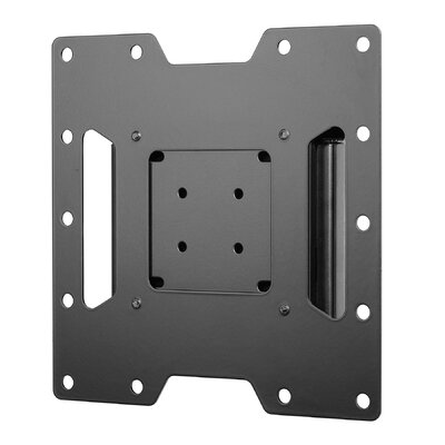 Smart Mount Fixed Universal Wall Mount for 22- 40 Flat Panel Screens Finish: Black, Hardware: Security Screws
