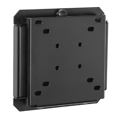 Smart Mount Fixed Universal Wall Mount for 10- 29 LCD Finish: Black, Hardware: Security Screws