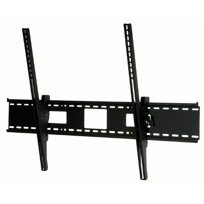 Smart Mount Tilt Universal Wall Mount for 61 - 102 Plasma Finish: Black, Hardware: Phillips Head