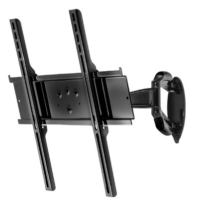 Smartmount Tilt/Swivel Universal Wall Mount for 26 - 46 Flat Panel Screens Finish: High Gloss Black