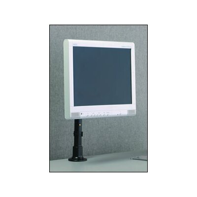 Height Adjustable Desktop Mount Finish: Black
