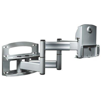 Flat Panel Dual Articulating Arm/Tilt Wall Mount for 42 - 71 Plasma Finish: Black