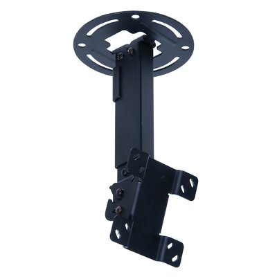 Peerless TV and Projector Paramount Universal Tilt/Swivel Ceiling Mount for 15 - 24 LCD Adjustable Drop Range: 10 to 14, Finish: Black