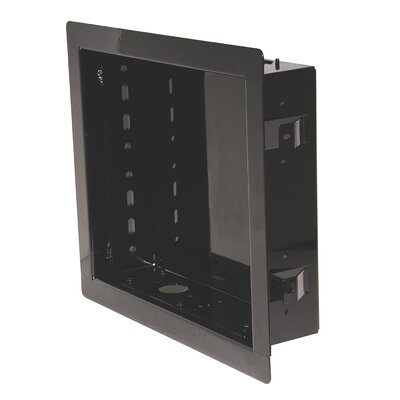 In-Wall Box for PA730, PA740, SP730P and SP740P Models Color: Black