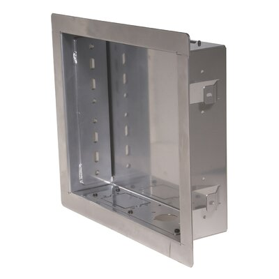 In-Wall Box for PA730, PA740, SP730P and SP740P Models Color: Silver
