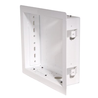 In-Wall Box for PA730, PA740, SP730P and SP740P Models Color: White