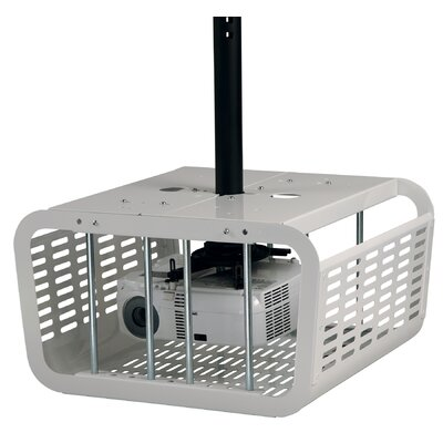 Security Enclosure for Projectors Color: White
