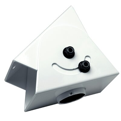 Cathedral Ceiling Adapter Color: White