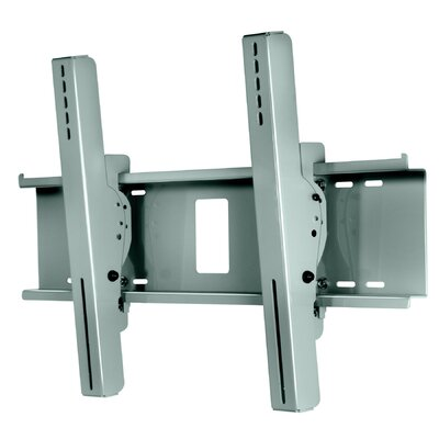 Wind Rated Tilt Universal Wall Mount for 32 - 65 Flat Panel Screens Finish: Silver