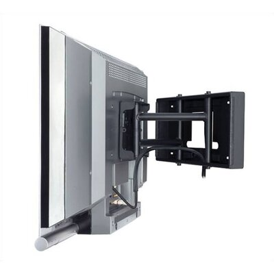 Articulating Arm/Tilt/Swivel Wall Mount for 10 - 22 LCD/plasma Finish: Black, Hardware: Phillips Head