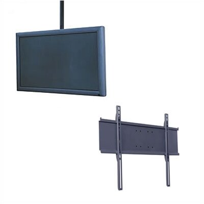 "Peerless Universal Flat Panel Straight Column Ceiling Mount for 32"" to 60""  Flat Screens Includes Ceiling Plate - Color: Black at Sears.com"