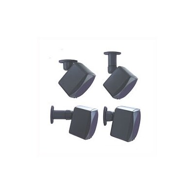 Universal Speaker Mount (Holds 20 Lbs) Color: Black, Number of Mounts: 1