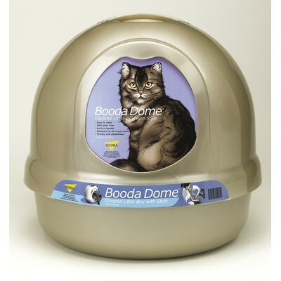 Dome Litter Box Color: Platinum