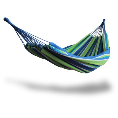 Cotton and Polyester Chair Hammock Color: Green