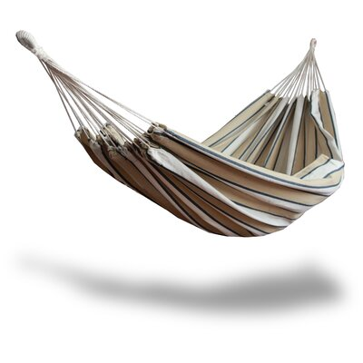 Cotton and Polyester Chair Hammock Color: Tan