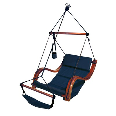 Nami Polyester Chair Hammock Color: Midnight Blue