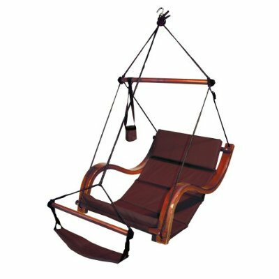 Nami Polyester Chair Hammock Color: Burgundy