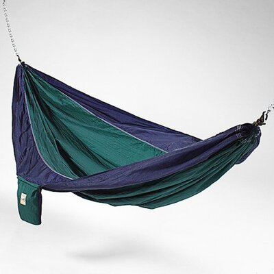 Hammaka Parachute Silk Fabric Hammock - Color: Blue / Green at Sears.com