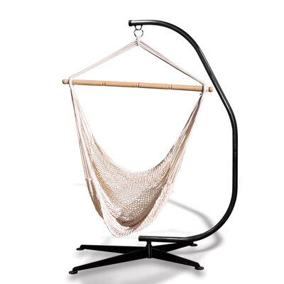 Suelo Stand Cotton Chair Hammock with Stand