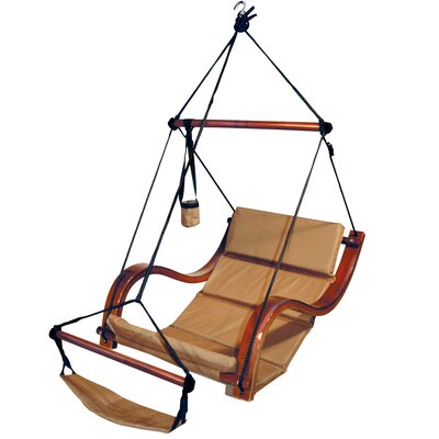 Nami Polyester Chair Hammock Color: Natural Tan
