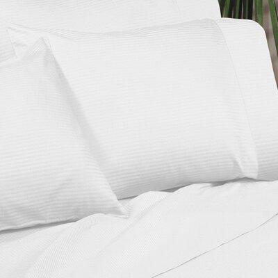 Regan Egyptian Quality Cotton Sham Size: Standard, Color: White