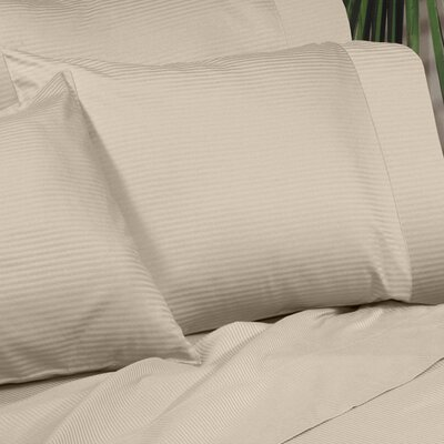 Regan Egyptian Quality Cotton Sham Size: King, Color: Taupe